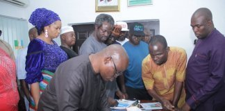 Jibril submits nomination form