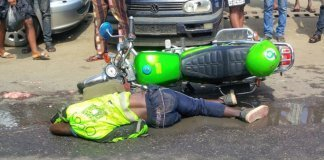 OPay ORide Operator Crushed in Lagos