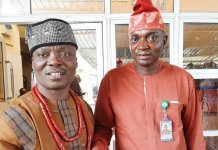 Ojo-Lanre with Ekiti Lawmakers cultural–art vision