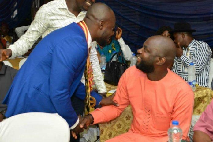 Rotaract Olowu with Hon Fijabi