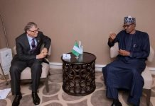Buhari Meets with Bill Gates, Aliko Dangote