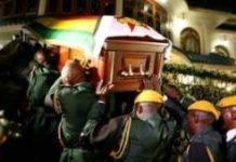 Mugabe Burial