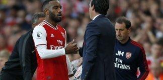 Unai Emery salutes Arsenal