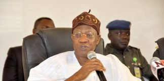 Tourism Minister, Lai Mohammed