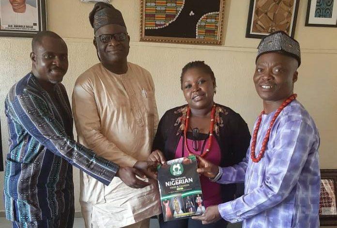 Wale Ojo-Lanre with Iyan Ekiti