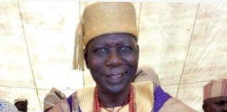 Eleruwa of Eruwa