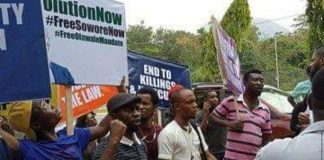 Free Sowore protest