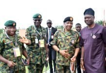 Makinde on Army
