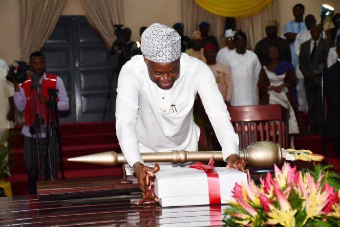 oyo state governor Makinde presents 2020 budget