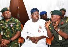 Makinde on Armed forces