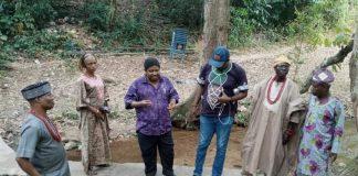 Ojo-Bakare on tourist sites tour