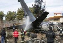 Ukranian Plane Crashes
