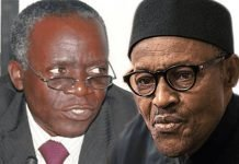 Buhari and Femi Falana