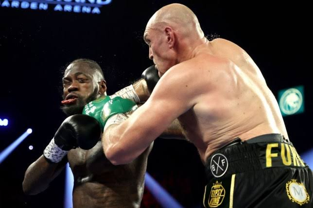 Deontay Wilder rushed to hospital after bloody