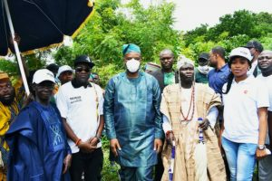 World Tourism Day on Idere Hills, Oyo State