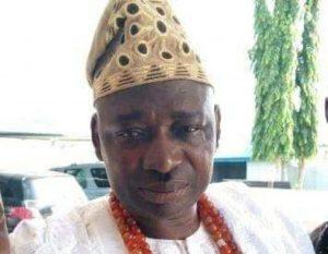 Olu of Ora Kingdom, HRH Peter Oriyomi Ogungbesan
