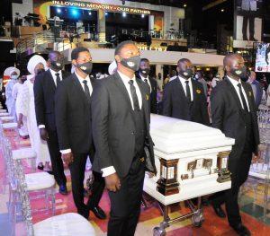 Prophet TB Joshua remains